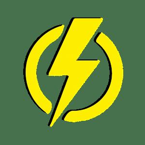 éclair jaune