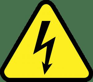 panneau jaune sécurité industrielle