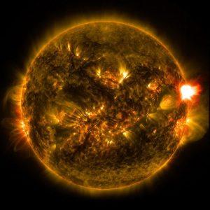 éruption solaire