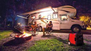 groupe électrogène camping car nuit