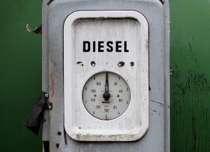 boitier blanc jauge diesel