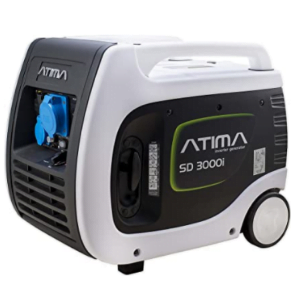 groupe électrogène camping-car Atima SD3000i blanc