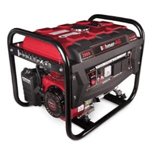 groupe électrogène pour maison Böhmer AG 6500w rouge