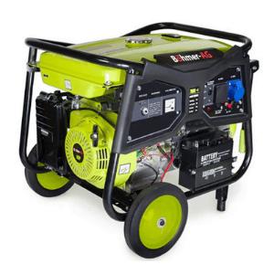 groupe électrogène chantier Böhmer AG WX7000K-E vert avec roue