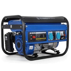 groupe électrogène EBERTH 3000 Watt Générateur électrique bleu