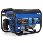 EBERTH 3000 Watt Générateur électrique bleu AVR