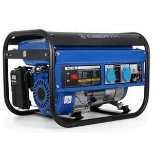 groupe électrogène AVR EBERTH 3000 Watt Générateur électrique bleu