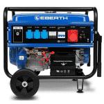 groupe électrogène 5000w Eberth avec châssis bleu