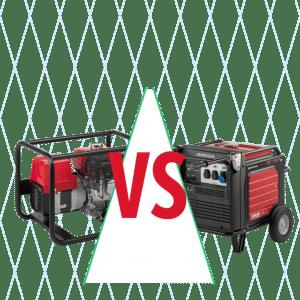 groupe électrogène Inverter contre les groupes électrogènes AVR