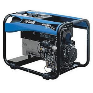 groupe électrogène triphasé SDMO 6500W diesel bleu
