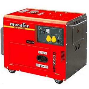 groupe électrogène pour maison MF 5500 D rouge Mecafer