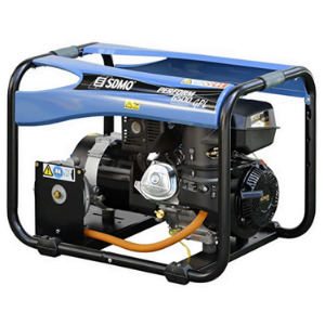 Groupe électrogène gaz SDMO 6500w bleu