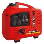 groupe électrogène mecafer 2400w rouge inverter