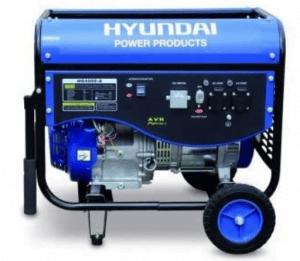groupe électrogène chantier Hyundai 4500W HG4000-A bleu