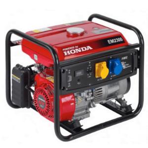groupe électrogène AVR Honda EM 2300 rouge