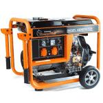 groupe électrogène 5000w Knappwulf orange