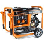 groupe électrogène pour maison Knappwulf KW5500 orange