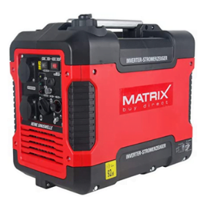 groupe électrogène silencieux Matrix 1900 watts rouge