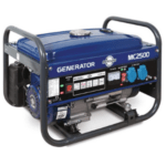groupe électrogène 2000w Mecafer MC2500 bleu