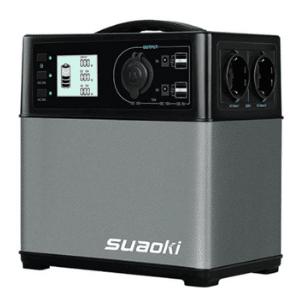 groupe électrogène Suaoki 400Wh gris