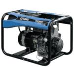 groupe électrogène SDMO 5200 watts bleu