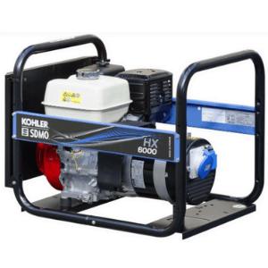 groupe électrogène SDMO 6000 watts bleu