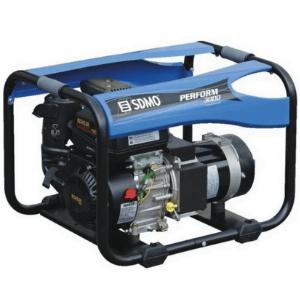 groupe électrogène SDMO 3000 watts essence bleu