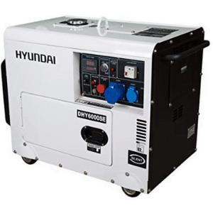 generateur Hyundai 6000w diesel blanc