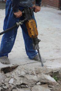 marteau piqueur avec groupe electrogene 5000 watts
